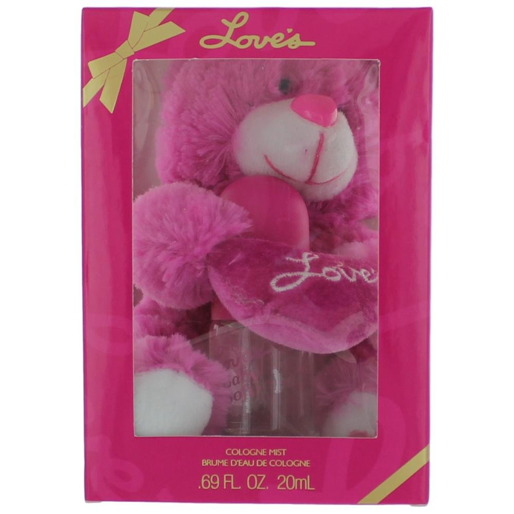 Dana Love's Baby Soft Gift Set with Teddy Bear & Perfume for Women