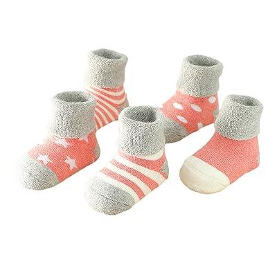 Andyshi Autumn Winter Baby 5 Pack Socks