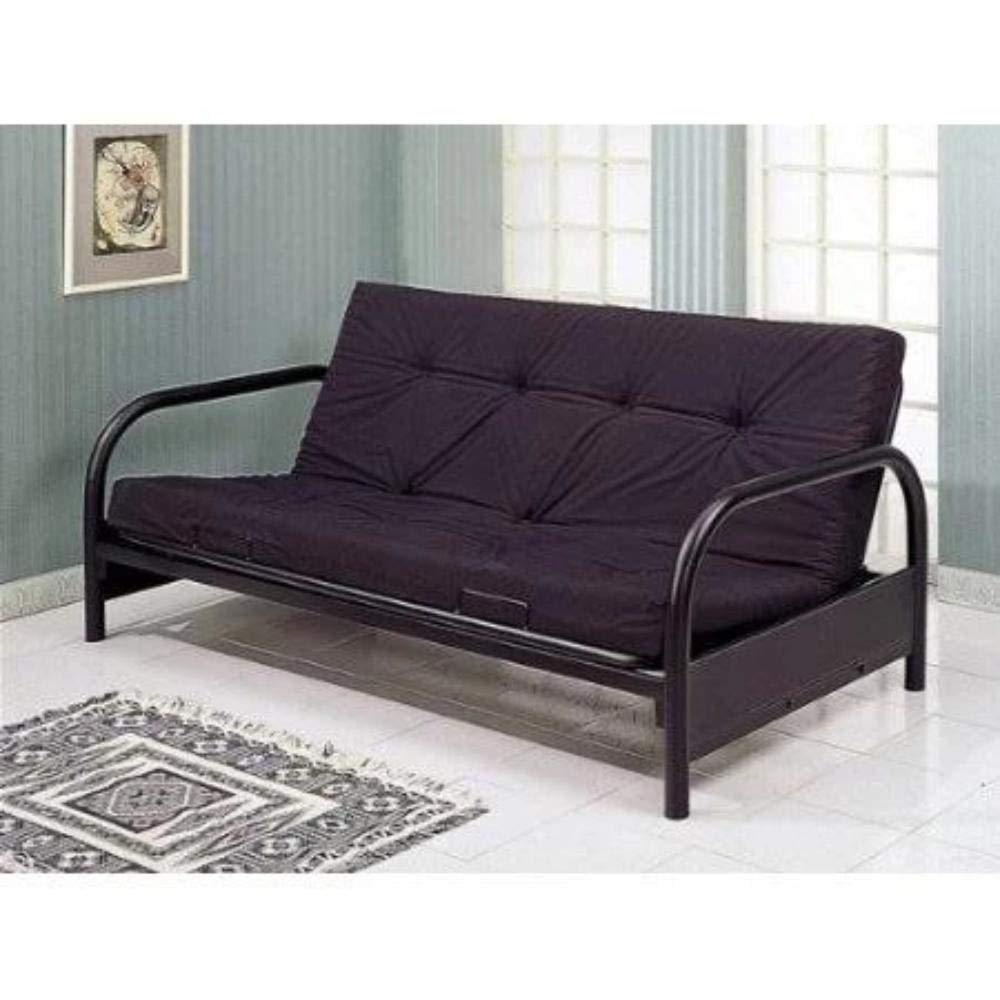 DSORO Contemporary Black Metal Futon Frame by DSORO