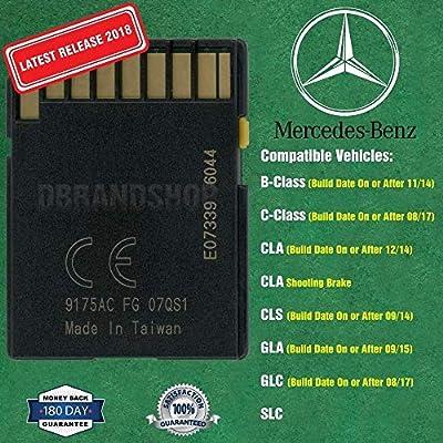 New SD Card Garmin Map Pilot 2020 2020 Mercedes-Benz Navigation Part A2189063003: Car Electronics