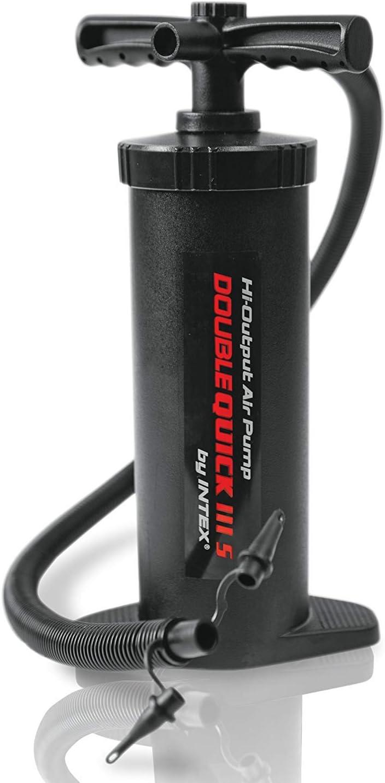 Hinchador de mano doble velocidad 29 cm Intex 68612