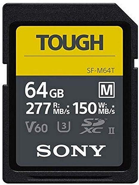 Sony Sf M64t Sd Speicherkarte 64 Gb Uhs Ii Sd Tough M Serie