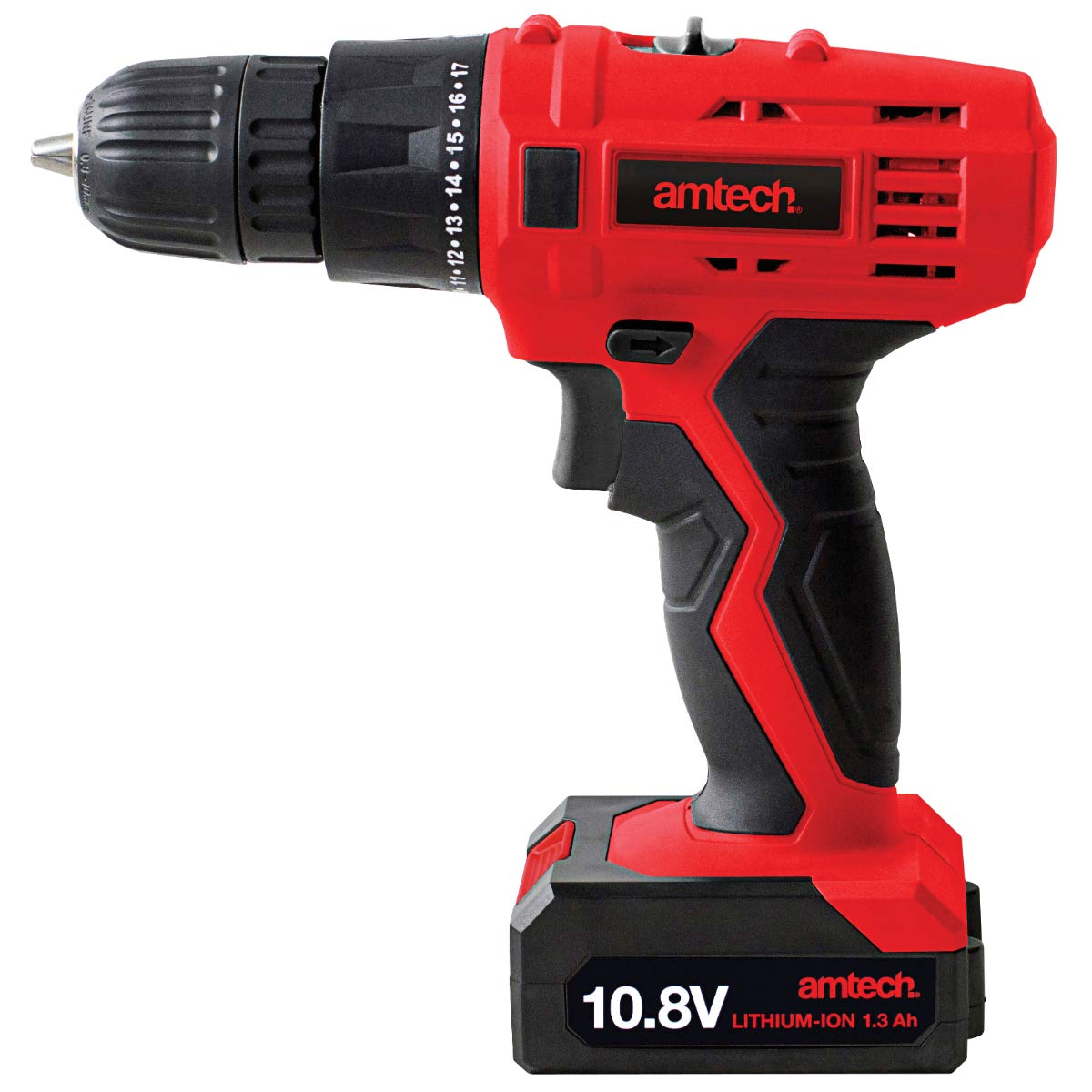 Amtech V6505 10.8-Volt Li-Ion Cordless Rechargeable Drill Driver 2 Year Warranty AM-V6505