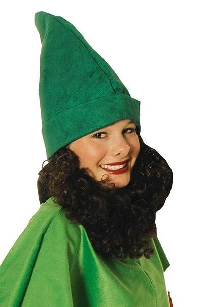 Unbekannt Cappello verde da nano con barba  Amazon.it  Giochi e giocattoli b802d620df02