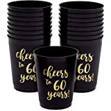 10 count Cheers to 90 Years 90th Birthday Styrofoam Cups