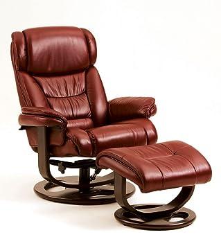 Remarkable Amazon Com Lane Angelo Leather Recliner Ottoman Cjindustries Chair Design For Home Cjindustriesco