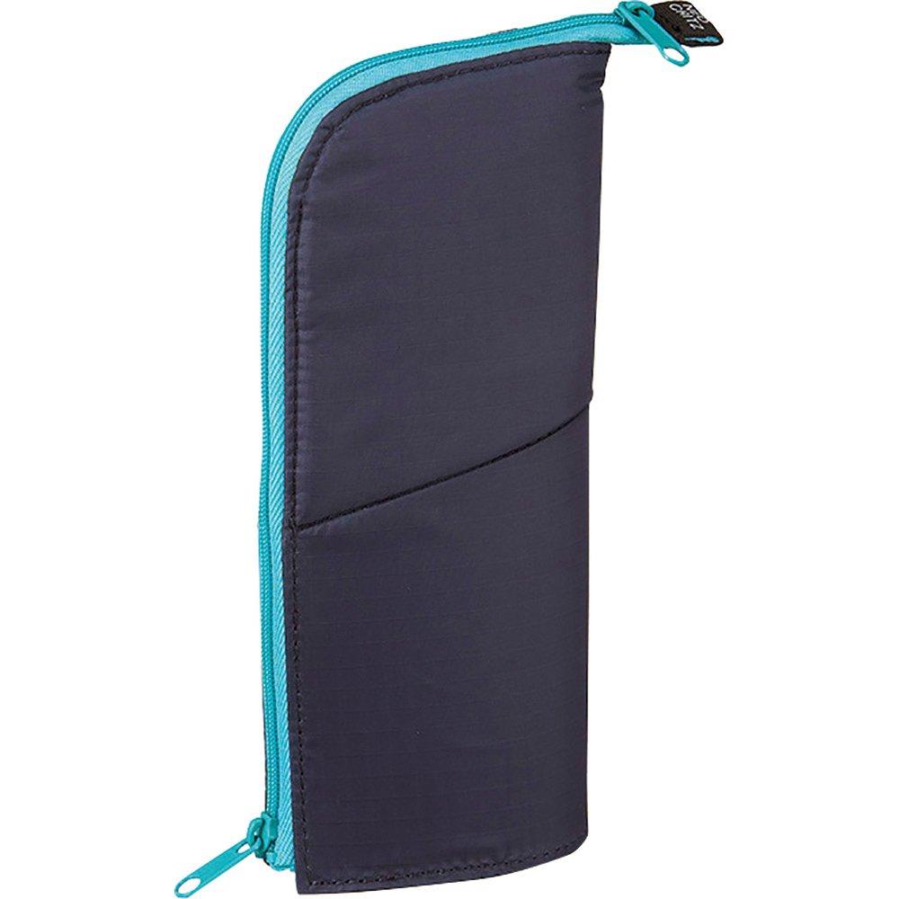"""(Japan Import) Kokuyo """"NeoCritz"""" Transformer Pencil Case (1.Dark blue Light blue)"""