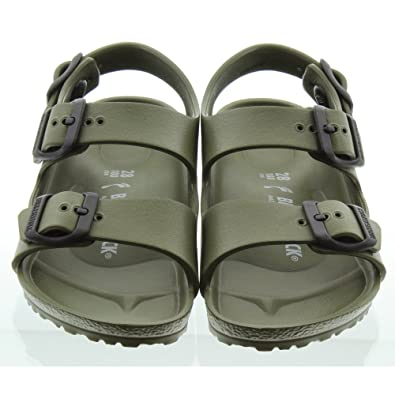 Birkenstock - Milano Kids Eva Sandals in Khaki  Amazon.co.uk  Shoes   Bags 2f4c10fbae3