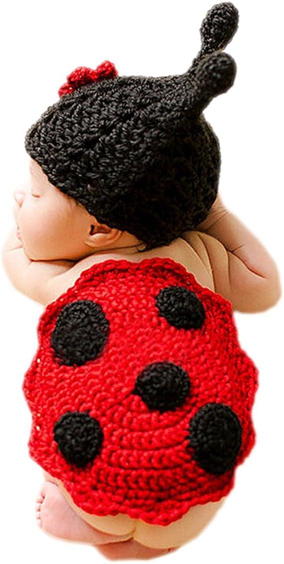 DELEY Bebé Recién Nacido Crochet Tejer Dibujos Animados ...