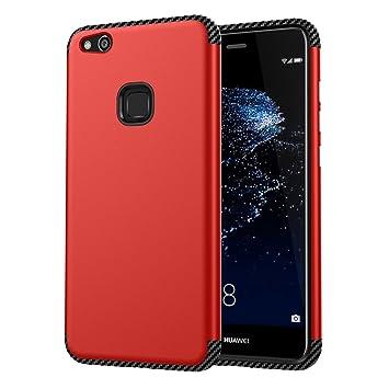 ARRYNN Funda Huawei P10 Lite, Choque Absorción Protector Delgado ...