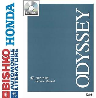 Honda odyssey 1999 2010 repair manual haynes repair manual haynes bishko automotive literature 2005 2006 honda odyssey shop service repair manual cd engine electrical oem fandeluxe Gallery