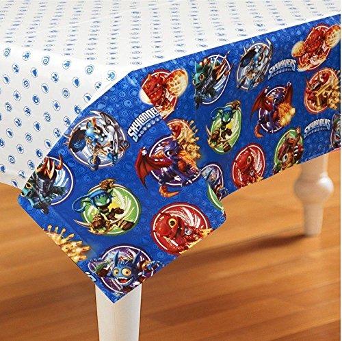 Skylanders Evergreen Plastic Table Cover Decoration - 571328