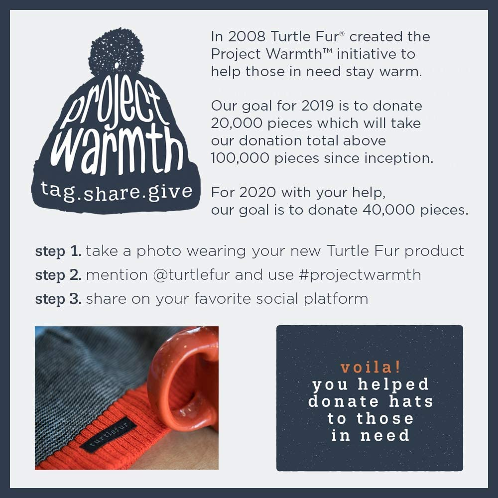 Comfort Shell UV Totally Tubular Lightweight Neck Warmer Turtle Fur