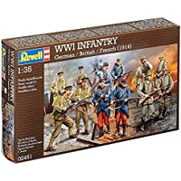 Revell - Wwi Alm/Ing/Fr (2451)