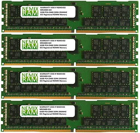 NEMIX RAM 32GB DDR4-2666 2Rx4 RDIMM for Intel HNS2600TPFR