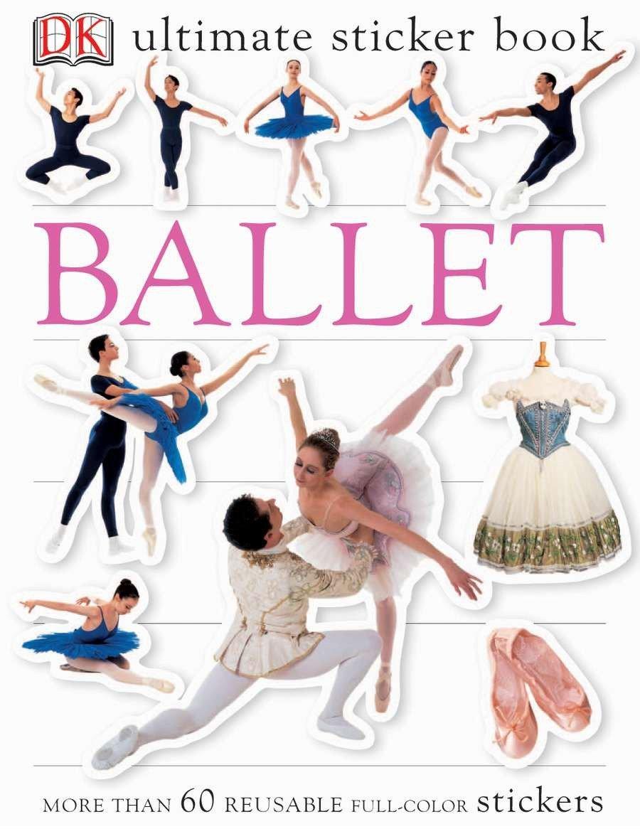 Download Ultimate Sticker Book: Ballet (Ultimate Sticker Books) pdf