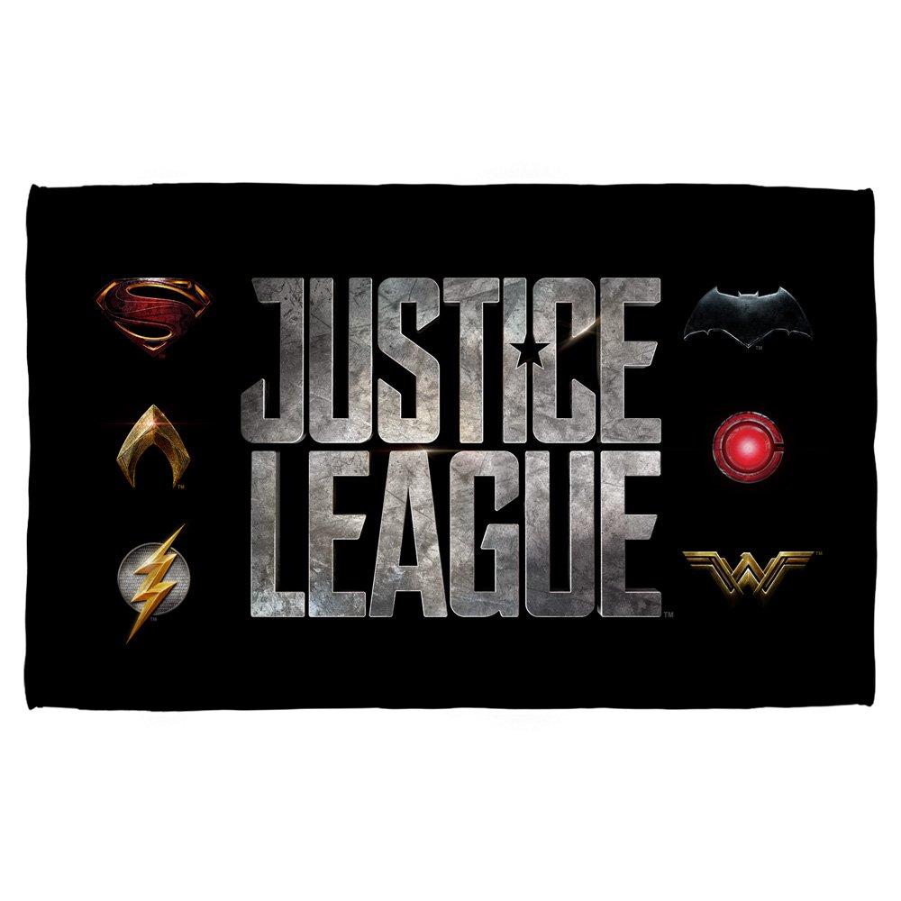 Logos -- Justice League Movie -- Beach Towel (36'' x 58'')