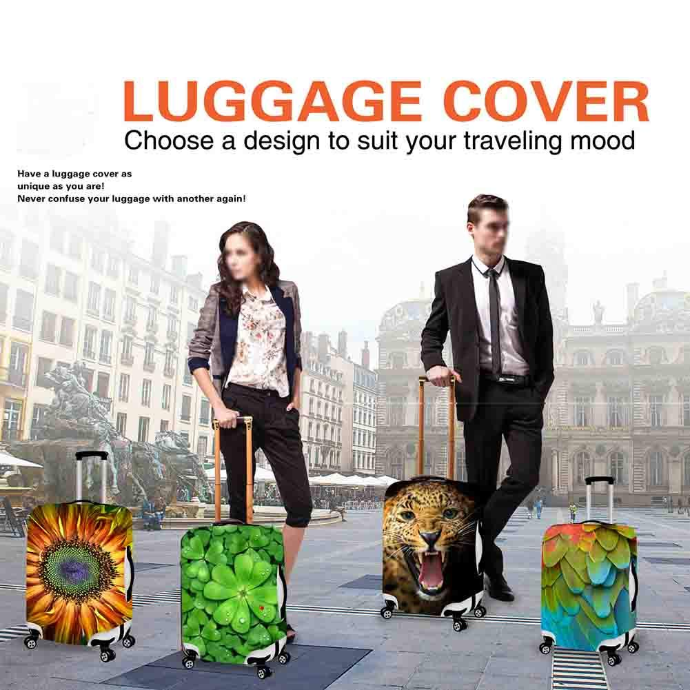 Autumn Forest Sunset suitcase cover elastic suitcase cover zipper luggage case removable cleaning suitable for 29-32 trunk cover