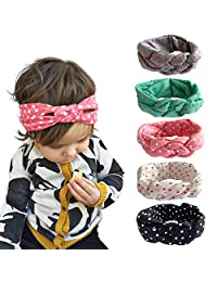 Fashion Story Elastic Hair Bow Photography Baby Girl Headband Head Wrap Knotted
