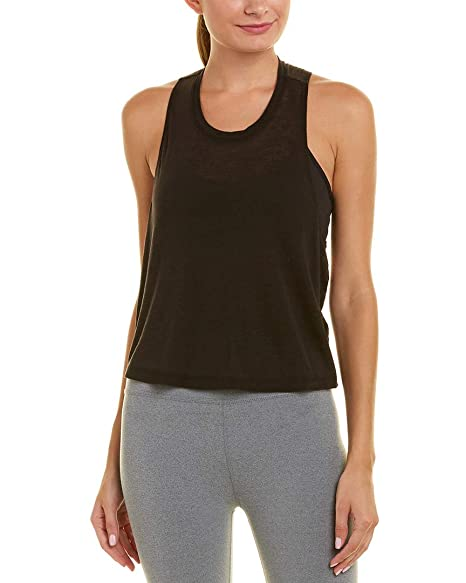 c8fc4d3378e Amazon.com: Beyond Yoga Women's Wrap Around Tank Top Black Large ...