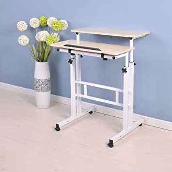Plateau De Lit Table D Ordinateur Portable Reglable Table De Cahier