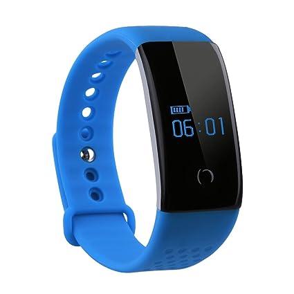 Diggro S1 Smart pulsera Monitor de frecuencia cardíaca monitor de oxígeno en sangre Fitness Tracker Monitor de sueño Bluetooth reloj inteligente ...