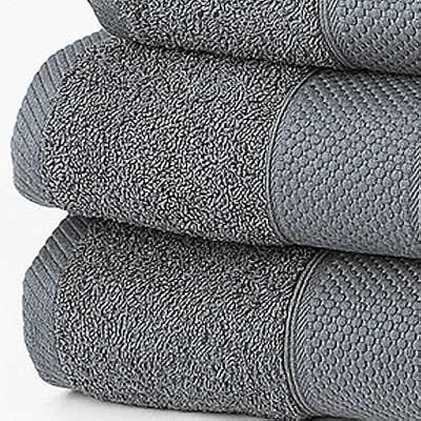 Negro 100x180cm Linens Limited Toalla de ba/ño Extragrande 100/% algod/ón Turco