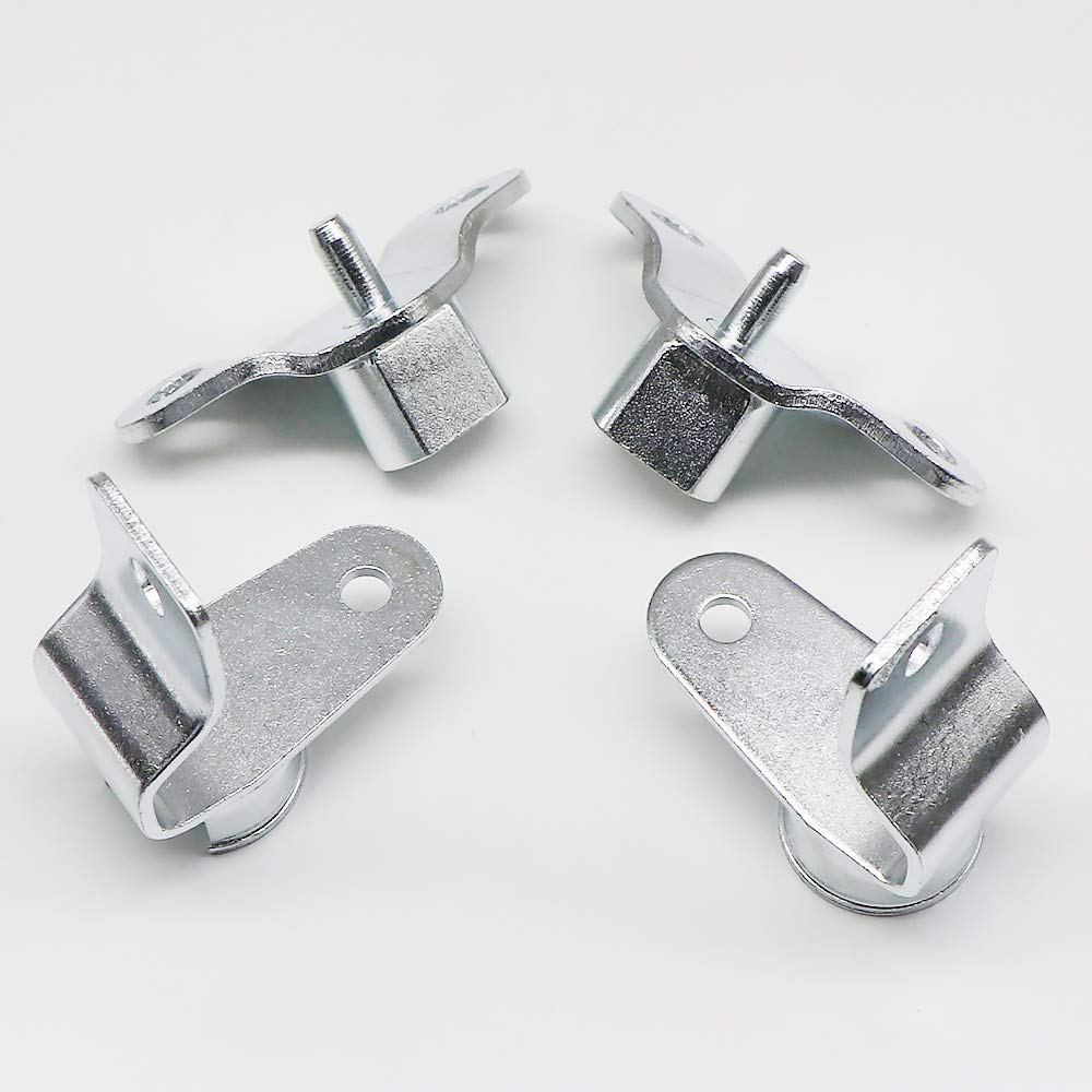 Replace OE # 15074252 15074253 15078745 Durable Rust Resistant KIPA Tailgate Tail Gate Hinge kit for Chevy Silverado GMC Sierra R45 Pickup Truck 1999-2006
