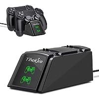 Cargador Mando PS4, Tihokile Estación de Rápida Carga para Controlador Playstation4 / Ps4Pro / Ps4 Slim, Muelle de Carga…