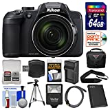 Nikon Coolpix B700 4K Wi-Fi Digital Camera with 64GB Card + Case + Flash + Battery & Charger + Tripod + Strap + Kit