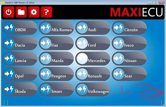 Interfaz de diagnóstico MPM-COM + MaxiECU para vehículos Renault – Diagnóstico Profesional