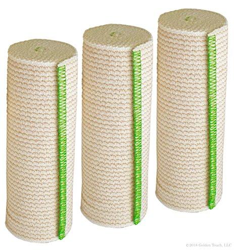 GT® Cotton Elastic Bandage w/Hook & Loop Closure On Both En