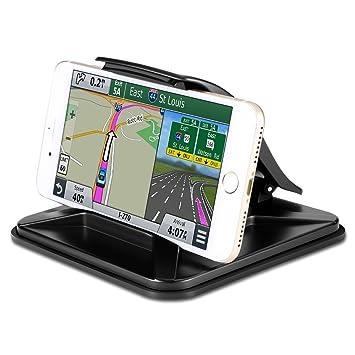 Soporte de coche para Samsung Galaxy S8, soporte universal para salpicadero de coche GPS para