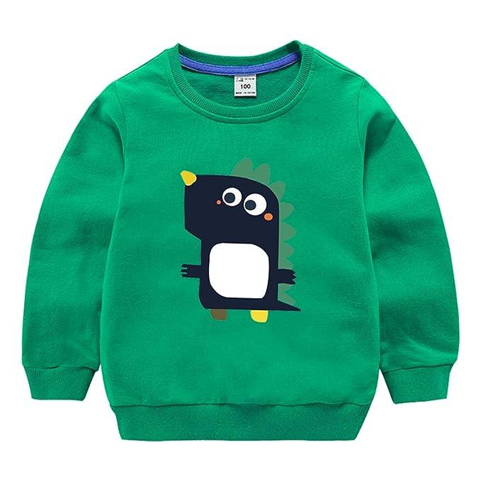 1bf038856424 Amazon.com  Baby Boy Girl Sweatshirt Cotton Long Sleeve Outfit ...