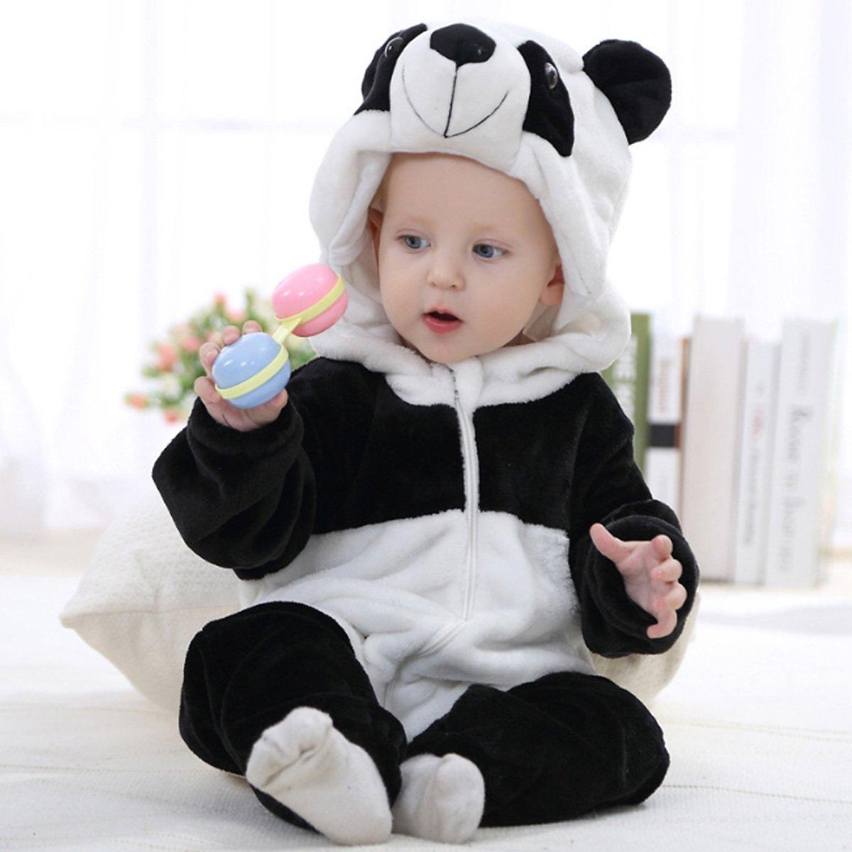 dbed7f463 Amazon.com  Happy Cherry Unisex Baby Animal Onesies Romper Toddler ...