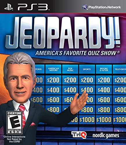 Jeopardy - PlayStation 3 (Xbox 360 Jeopardy Game)