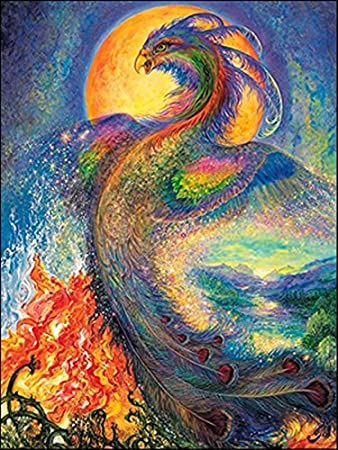 Amazon leanin tree pack of 6 greeting cards the phoenix by leanin tree pack of 6 greeting cards the phoenix by josephine wall m4hsunfo