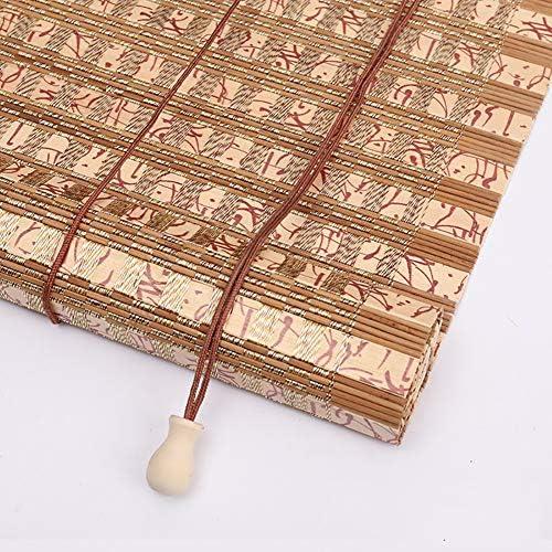Estor enrollable YXX Persianas Exteriores de bambú for pergola ...