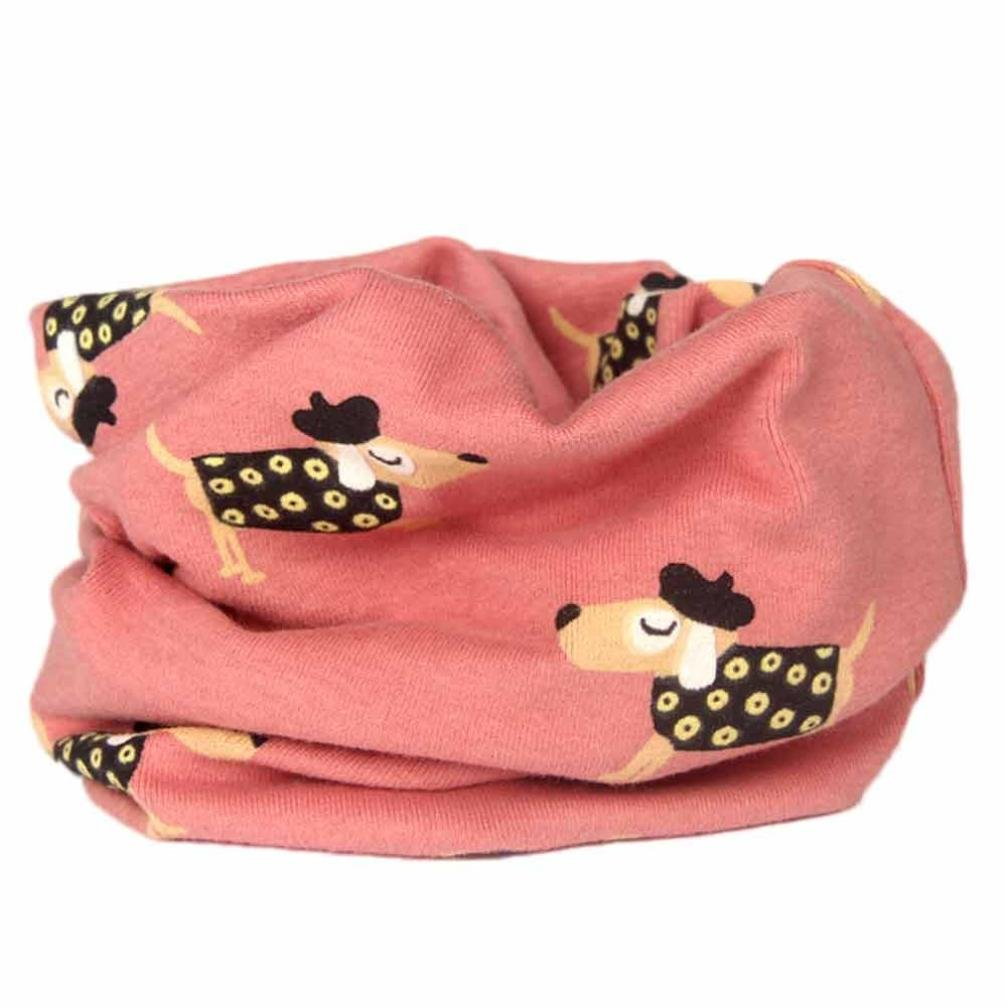 Muium Baby Boys Girls Autumn Winter Collar Scarf Cotton O Ring Neck Scarves For 2 to 10 Years old
