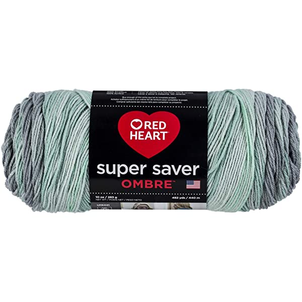 Red Heart Super Saver Ombre Yarn 10 oz Jazzy