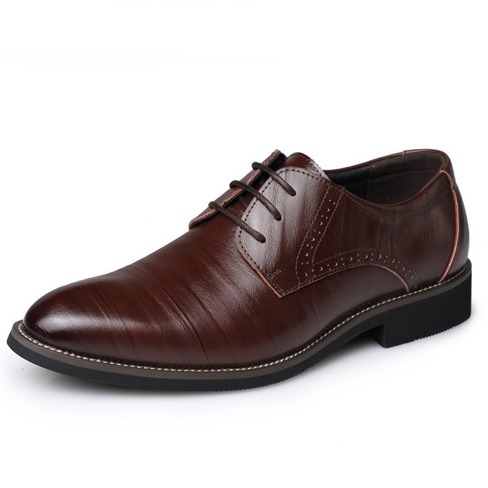 Feidaeu - Zapato con cordones Hombre 43 EU marrón