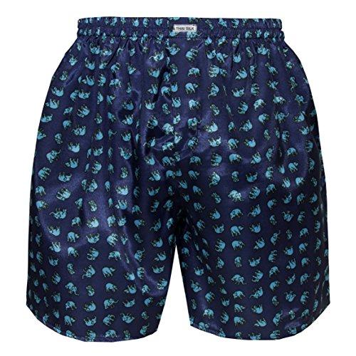 Navy Blue Boxer Shorts - 7