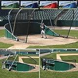 Big Bubba Pro Batting Cage in Dark Green