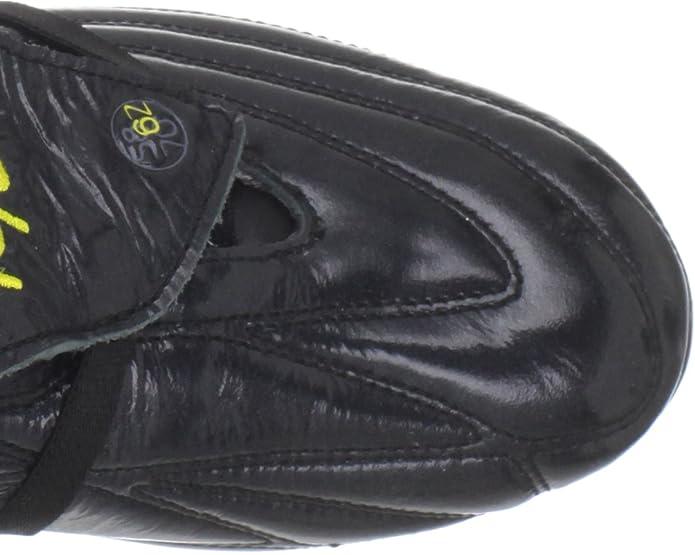 Pele Sports - Botas de fútbol para hombre negro negro, color negro, talla 11.5 UK