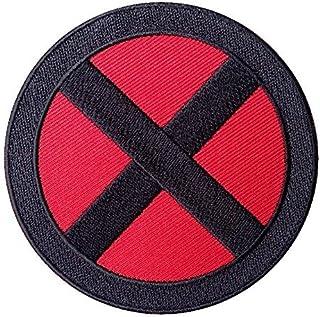 Hook Fastener X-Men Storm Red - Black Cross 'X' Logo Movie Patch By Titan One Europe