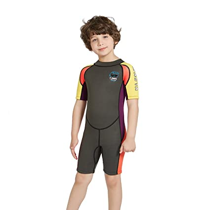 7e0d7a25b6 Nataly Osmann Shorty Wetsuit for Kids 2.5mm Premium Neoprene Suit for Girls  and Boys Surfing