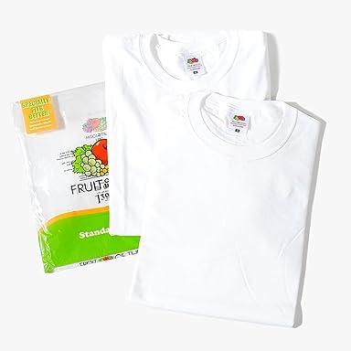 Fruit of the Loom Crew T-Shirt J3930: White / White