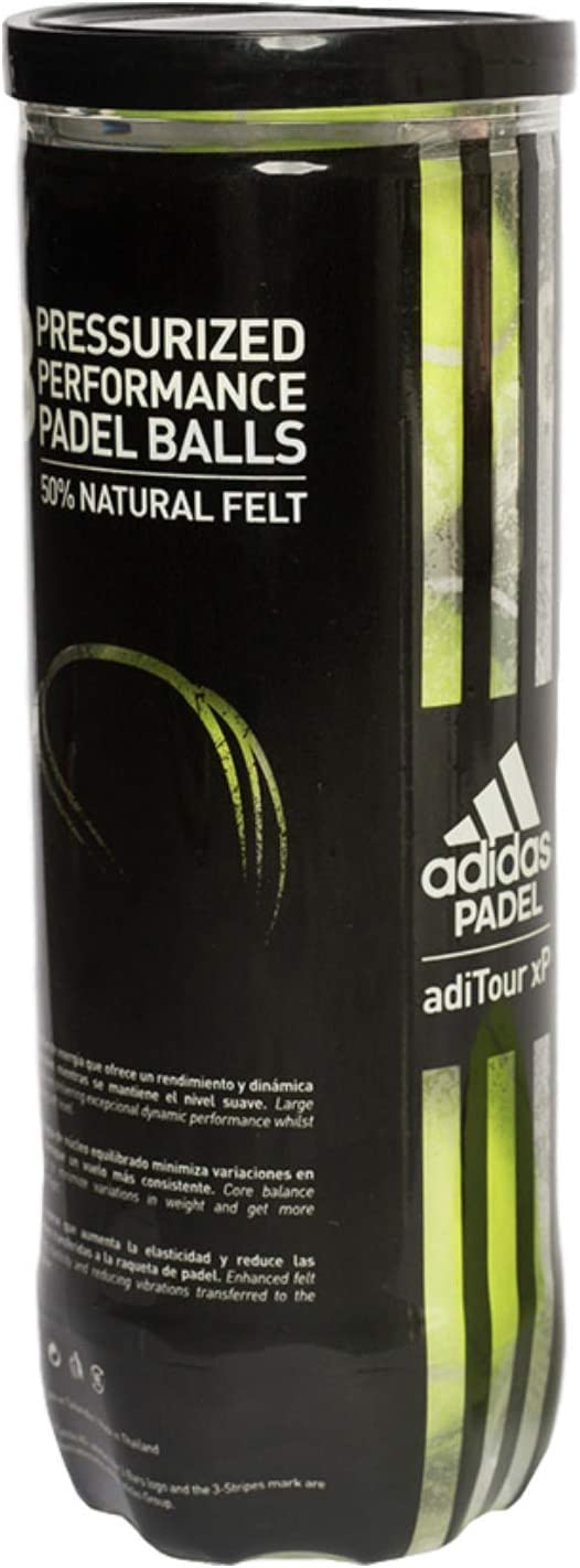 Atajos el fin inestable  adidas adiTour xP Padel Balls: Amazon.co.uk: Sports & Outdoors