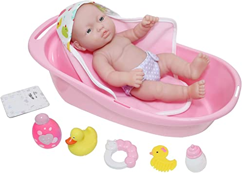 """JC Toys 10 piece Deluxe Bathtub Set, 12"""""""