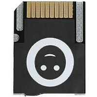 Xinvision Push-Eject Type SD2VITA 2.0 SPVSD PSV Micro SD Adapter for PS Vita Henkaku 3.60 Gaming Memory Card Color Black